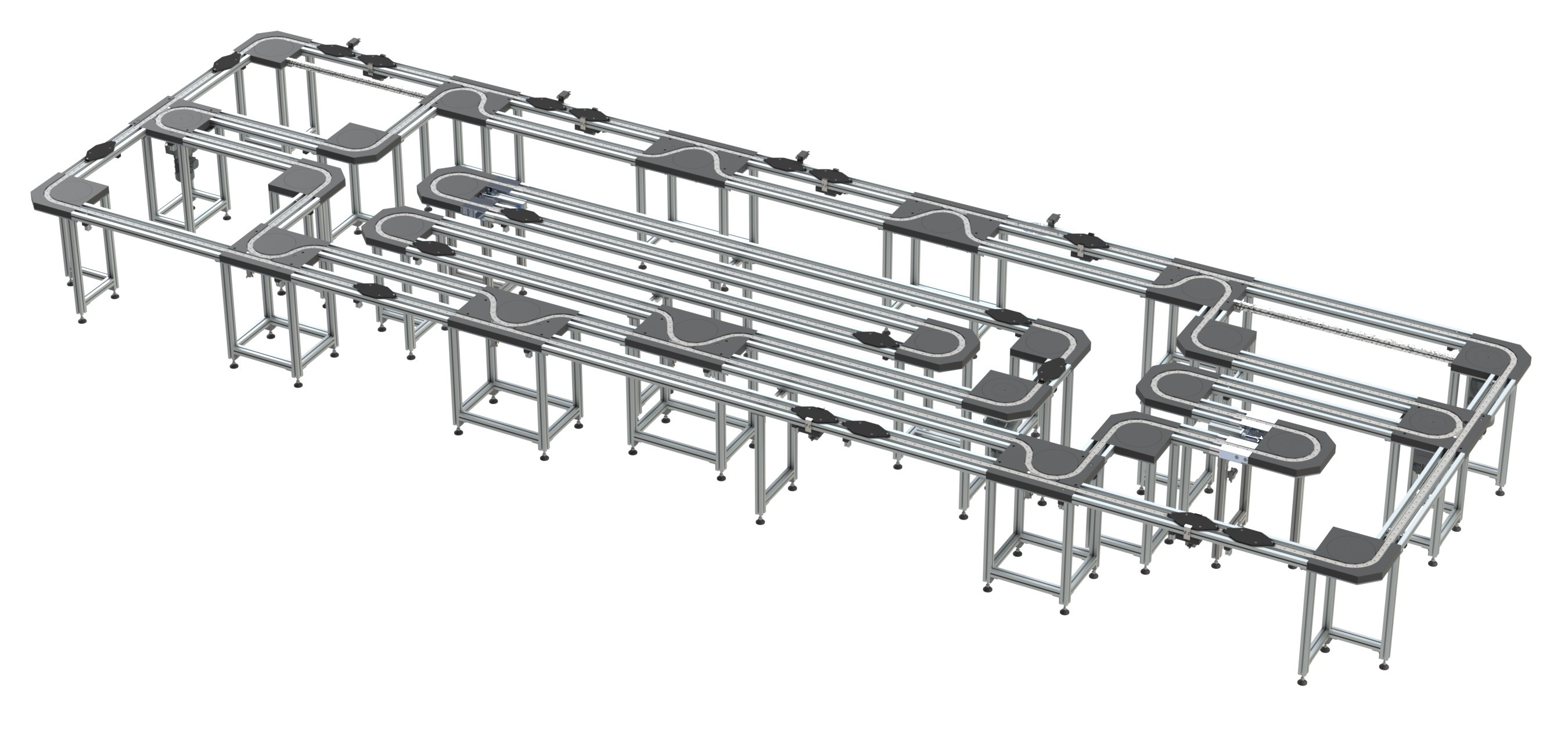 Transfersystem - Förderanlage - Automation - Zelle